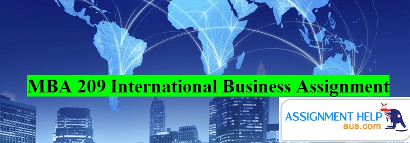 MBA 209 International Business