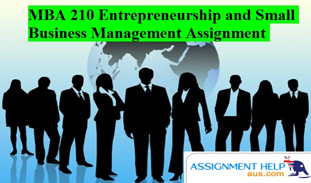 MBA 210 Entrepreneurship and Small Business Management
