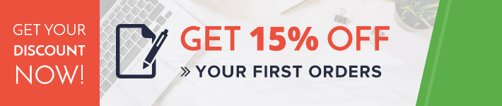 Get 15% off your first assignment order