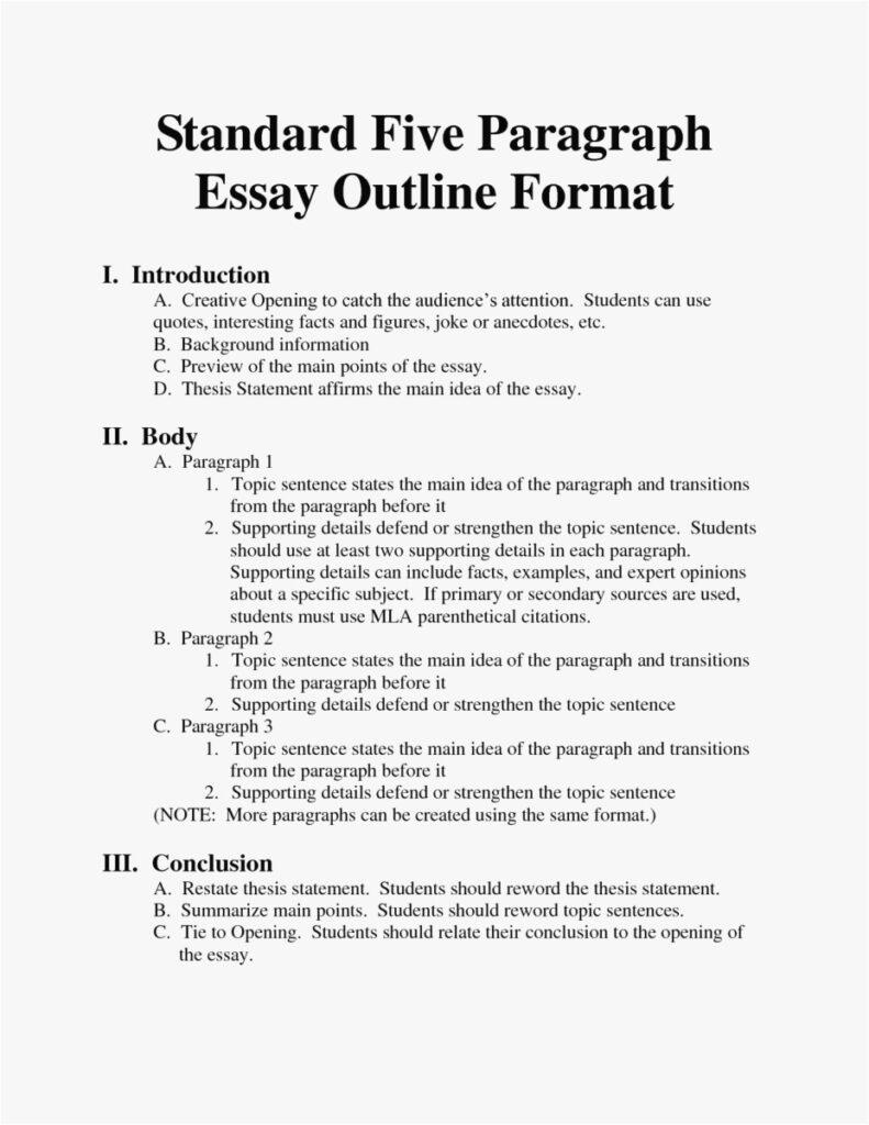 Essay-Format